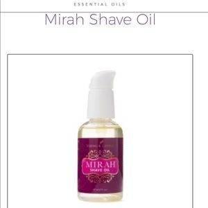 YL Mirah shave oil